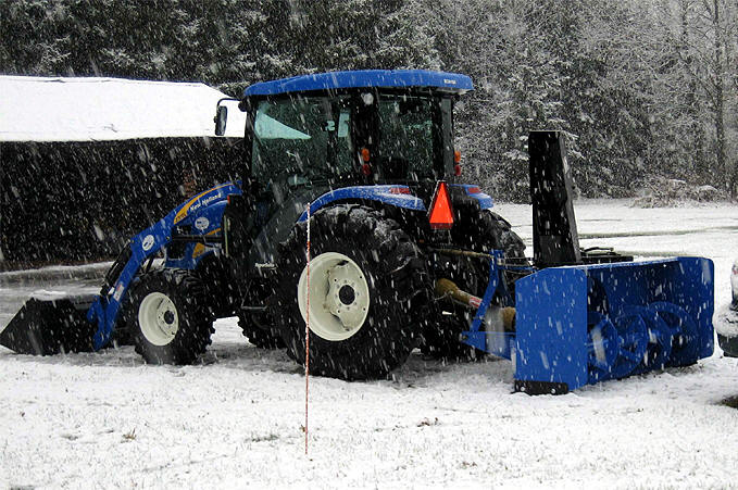 Residential snow removal Barrie